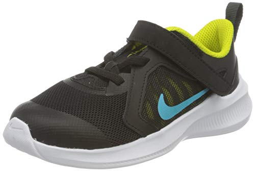 Nike Downshifter 10 (TDV), Zapatillas Deportivas Unisex niños, Football Grey Purple Pulse Thunder Blue White, 18.5 EU