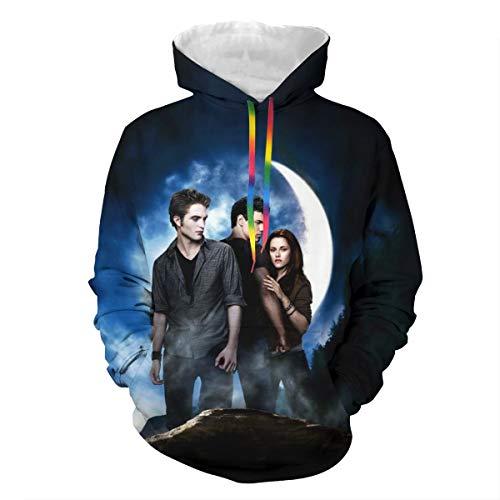 Lumugun Twilight Saga Unisex 3D Print Couple Hoodie Women Men Hooded Sweatshirt Pullover Hoody