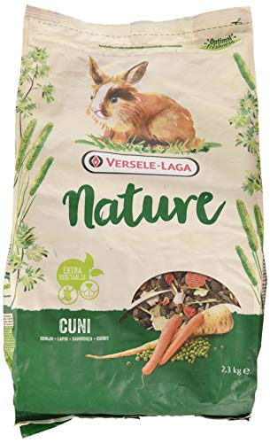 Versele Laga Nature - Mangime per conigli (2.3kg) (Multicolore)