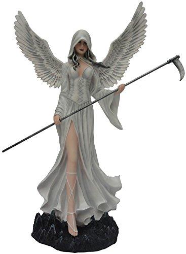 Féeries et merveilles Statuette FEE Angela (HT 61 x 45 cm), Figurine Ange, Statue FEE