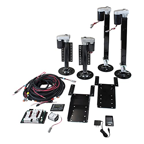 Lippert Ground Control 3.0 4-Point Automatic Leveling System for 5th Wheel RVs