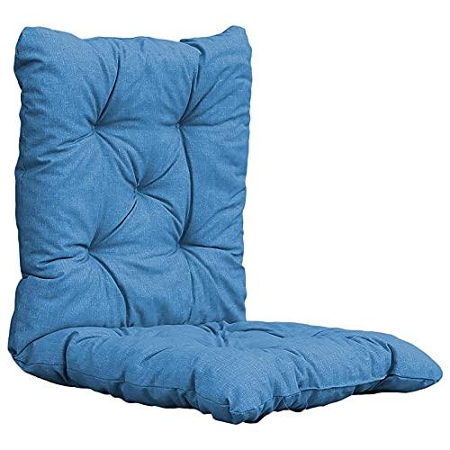 YYDMBH Cojines para 1pc sofá Cojines Universal reclinable Mecedora Silla Estera Cojines Suaves Almohada jardín Silla cojín Trasero y Abajo (Color : Beige)