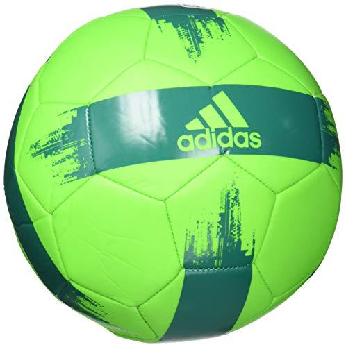 adidas EPP 2 Soccer Ball, Solar Green/Glory Green, 3