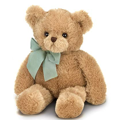 Bearington Baby Gus Brown Plush Stuffed Animal Teddy Bear, 13 inches