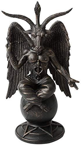 Baphomet Antiquity Figurine Satanic Demon Occult Goat of Mendes Statue Pagan Ornament