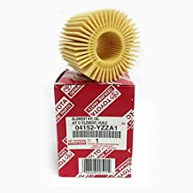 Toyota Genuine Parts 04152-YZZA1 Oil Filter and 90430-12028 Oil Drain Plug Gasket Oil Change Kit