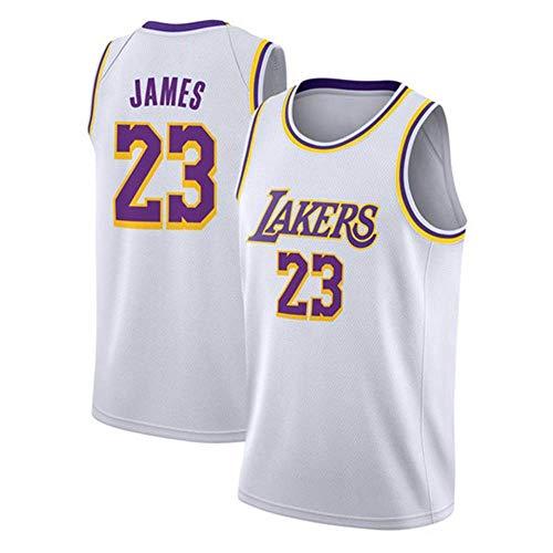 GXRck No. 23 camiseta de baloncesto, 23 # Play Jersey, 23 camiseta de jersey de punto, sin mangas, tejido clásico transpirable, uniforme de baloncesto para hombres y mujeres
