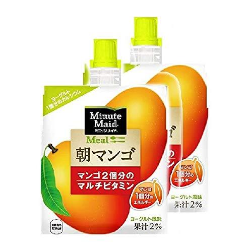 ミニッツメイド 朝マンゴ 180g パウチ (6入×2箱))