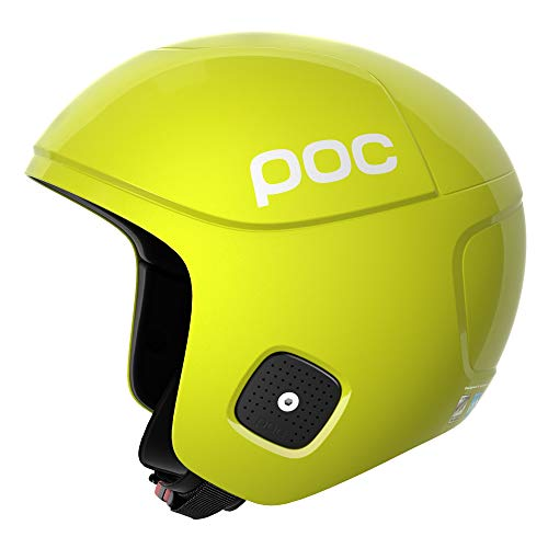 POC Skull Orbic X Spin, Casco da Sci Uomo, Hexane Yellow, L