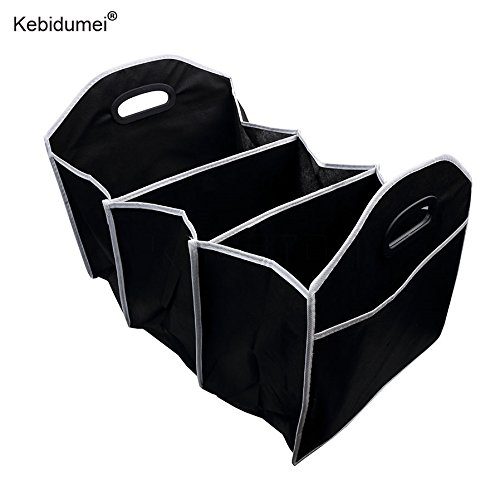 Daphot Store Car Trunk Storage Box Organizer Boot Stowing Portable Tidying Collapsible Cars Organizers Folding Bag