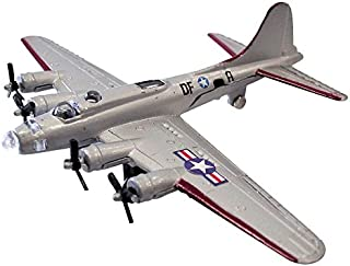 """InAir Diecast 4.5"""" B-17 Flying Fortress Silver"""