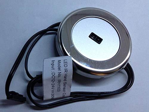Interruttore a sfioramento rotondo per LED 12v 24v adatto per tutti i tipi di led camper barche pulman