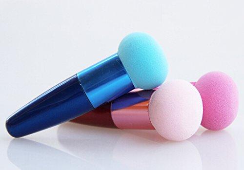 éponge pinceau fond de teint blender maquillage forme celebasse pinceau éponge bout rond envoi sous 24h