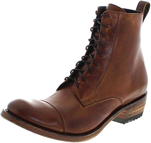 Sendra Boots Stiefel 7472 Evolution Tang/Herren Urban Boots Braun/Schnürstiefel/Herrenstiefelette, Groesse:45