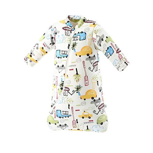 Lvguang Pijama Camisetas de Manga Larga de Algodón de Una