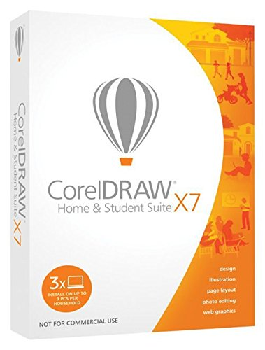 CorelDRAW Home and Student Suite X7 [import anglais]