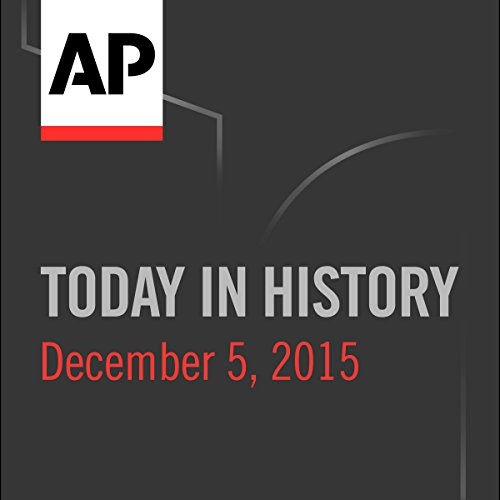 Today in History: December 05, 2016 cover art