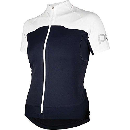 NEU Essential Jersey Short Sleeve POC Size L Damen Trikots Schwarz/Weiß