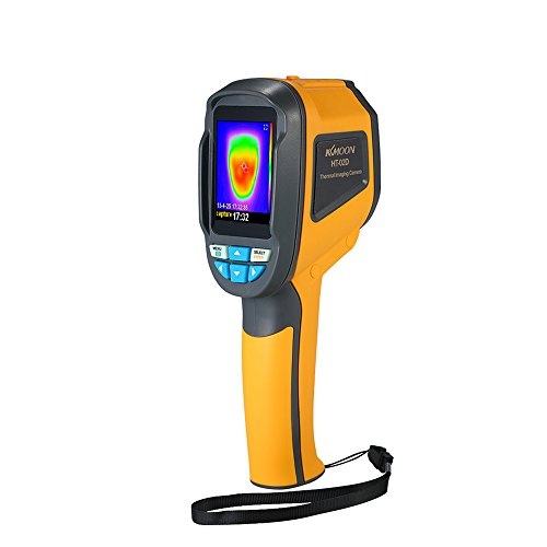 Cámara Termica de infrarrojos electronica Pistola para móvil Digital,Cámara Termografica Colorear LCD -20 ° C~300 ° C(-4°F~572°F), vision termica