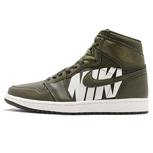 Nike Original Air Jordan 1 Retro High OG Segeltuch-Sneaker 555088 300 DB21 (UK 12)