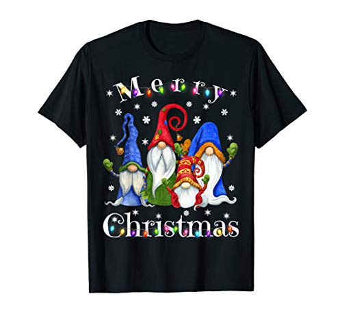Gnome Christmas Pajamas - Garden Gnome Merry Christmas T-Shirt