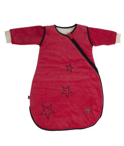 Kaiser Kaiser 65070133 Schlafsack STAR sidezip, Ganzjahresschlafsack, Arme abtrennbar, 70 cm, rot