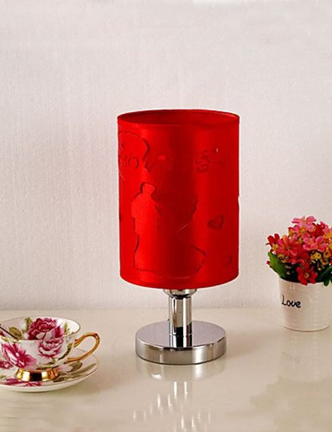 LPZSQ Eine Studie der Gewebe Dimmbare rot Wedding Celebration Lampe, warmes Wei-220-240V
