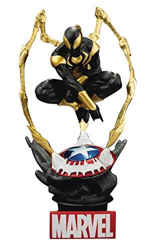 Beast Kingdom- Diorama Marvel Figura Iron Spider, Multicolor (DS-015SP)