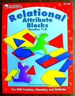 Relational attribute blocks activity book: Grades 1-6