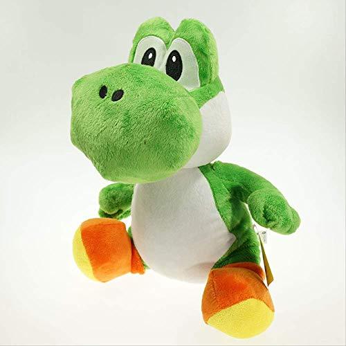 Simulatie dieren,Buitenlandse Handel Hete Verkoop Green Dragon Yoshi Pluche Pop Mary Luigi Pop Machine Pop Speelgoed 30 cm Groen