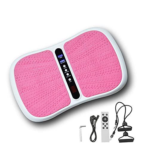 Maquina Plataforma Vibratoria Adelgazante Ejercicio Masaje para Adelgazar Oscilante Sportstech Profesional Pies Música Bluetooth 200W