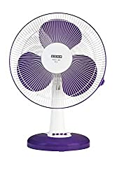 Usha Mist Air ICY 400MM 55- Watt Table Fan (Purple),USHA,MIST AIR ICY Table Fan