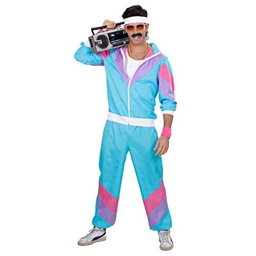 NET TOYS Survêtement beauf années 80 Costume Sport M 46/48 années 90 Costume de Sport New Kids déguisement de Sport Jogging