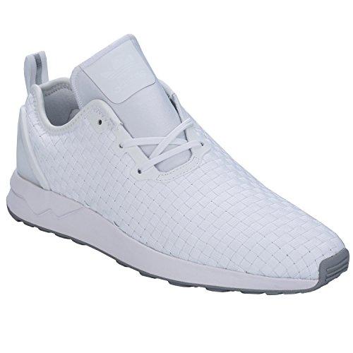 Adidas ZX Flux ADV Asym Hombre Zapatillas Blanco