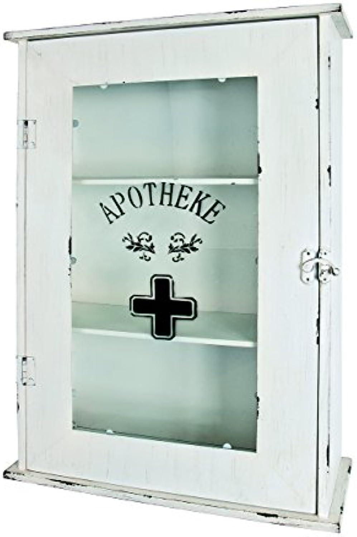 Haku-Mbel 27997 Medizinschrank, 68 x 47 x 18,5 cm, wei