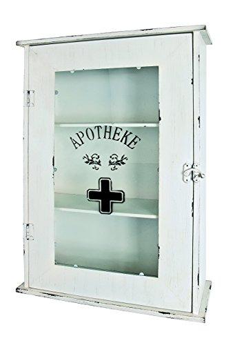 HAKU Möbel 27997 szafka medyczna, 68 x 47 x 18,5 cm, biała