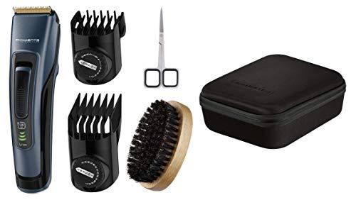 Rowenta TN4500F0 - Barbero Signature + Kit barba Larga Negro y Azul