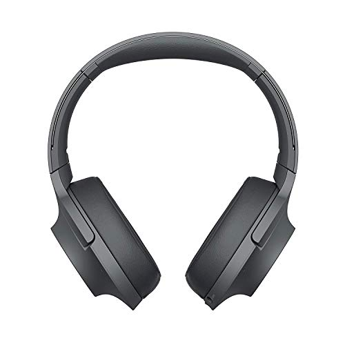 Sony WHH900N Cuffie Over-Hear Stereo, Bluetooth, Digital Noise Cancelling, Hi-Res Audio, Controllo Touch, con Microfono Integrato, Colore Nero