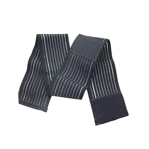 EXCEART 2 Piezas de Vendaje Elástico de Vendaje Compresivo para Rodillas Soporte para Piernas Fascitis Plantar Dolor en Las Articulaciones (Negro)