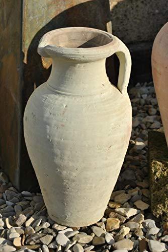 Kunert-Keramik Amphore,Krug, mit Henkel,Terracotta,Tunesische Handarbeit,ca.40cm hoch