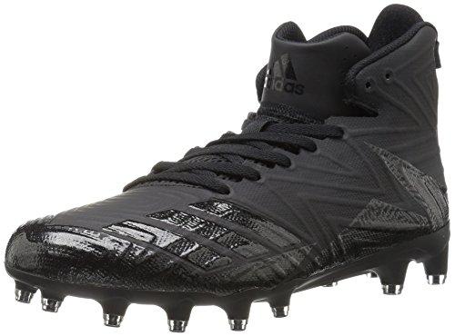 adidas Men's Freak x Carbon High Football Shoe, Black/Black/Black, (10 M US)