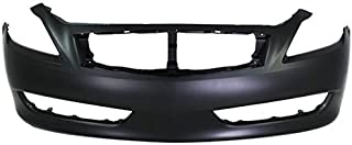 Partomotive For Front Bumper Cover Assembly Primed 08-10 G37 w/o Sport IN1000245 62022JL00H