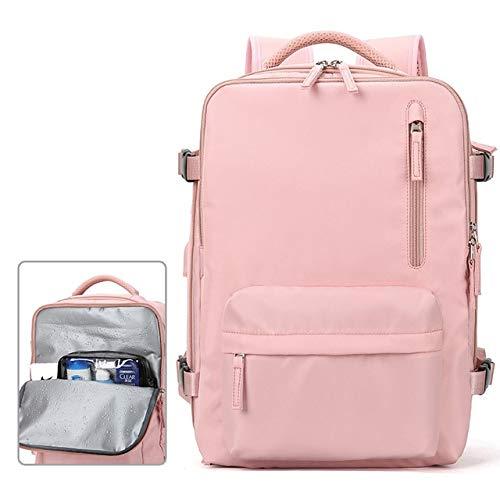 QPYYBR Mochila de viaje impermeable para hombres y mujeres mochila para portátil multifuncional para hombres y mujeres bolsa de equipaje al aire libre