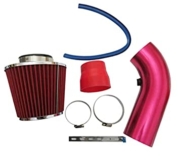 76mm 3 Inch Cold Air Intake Pipe Car Cold Air Intake Turbo Filter Aluminum Automotive Air filter Induction Flow Hose Pipe Kit