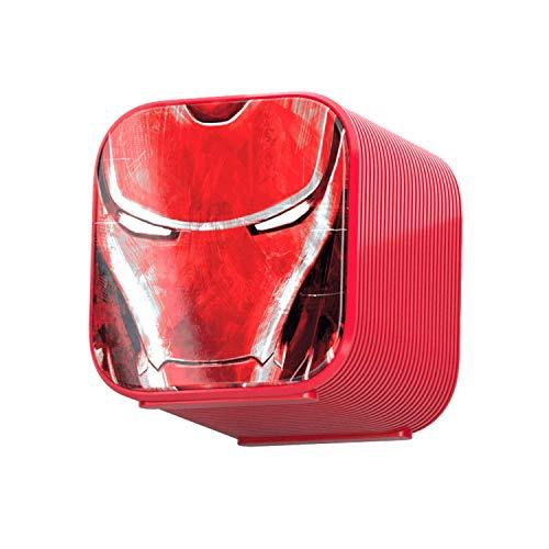 Caja de Audio portátil Bluetooth 4.0 (3 W) Iron Man - Altavoz...