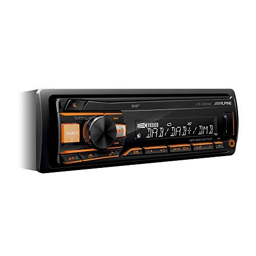 Alpine UTE-202DAB Autoradio, Bluetooth, USB, Noir
