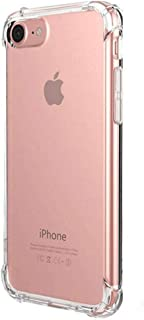 Transparent Clear Protective Case Reinforced Edges TPU Bumper Anti-Scratch Shock Proof Protector Cover (4.7-inch - iPhone ...