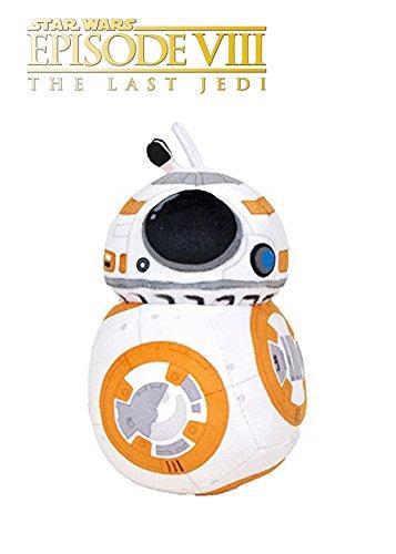 Star Wars - Peluche Star Wars Epidodio VII - El Despertar de la Fuerza (The Force Awakens) 29cm Calidad super Soft - Varios modelos a coleccionar - DISNEY (BB8 (BB-8))