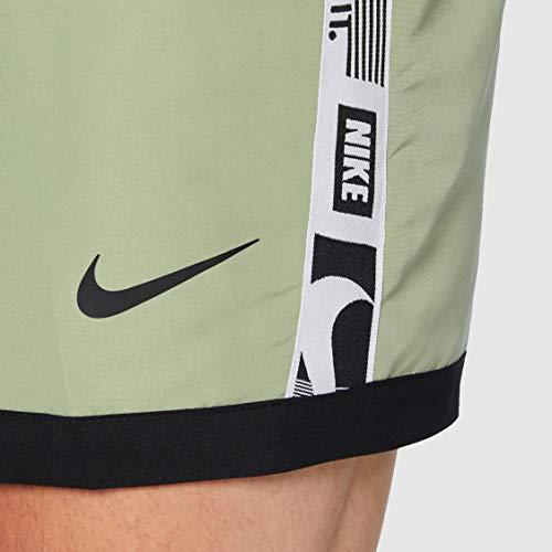 Nike 5 Volley Short, Costume da Bagno Uomo, Verde Petrolio, S
