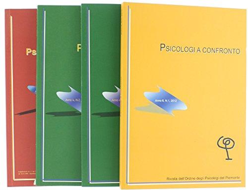 PSICOLOGI A CONFRONTO. Rivista dell'Ordine degli Psicologi del Piemonte.